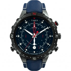 Timex Allied 45mm Tide Temp Compass - Gunmetal Blue