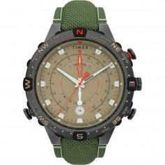 Timex Allied 45mm Tide Temp Compass - Gunmetal Tan