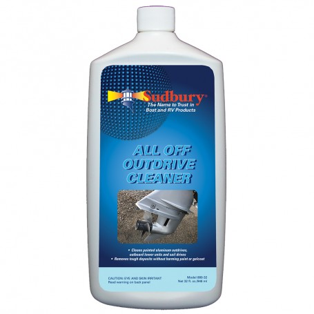 Sudbury Outdrive Cleaner - 32oz -Case of 6-