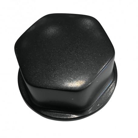 Schmitt Ongaro Faux Center Nut Black w-1-2- 5-8- M12 Base f-Cast Steering Wheels