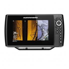 Humminbird HELIX 8 CHIRP MEGA SI Fishfinder-GPS Combo G3N -Display Only