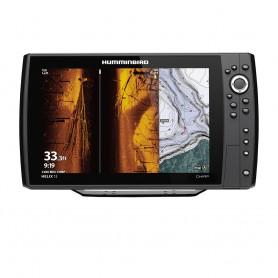 Humminbird HELIX 12 CHIRP MEGA SI Fishfinder-GPS Combo G3N -Display Only