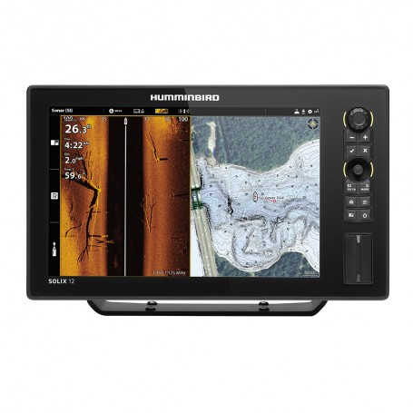 Humminbird SOLIX 12 CHIRP MEGA SI Fishfinder-GPS Combo G2 -Display Only