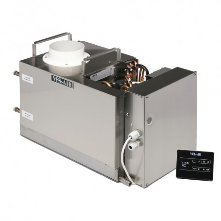 Velair 16K BTU VSD Marine Air Conditioner Unit - Brushless- Variable Speed- Soft Start- Reverse - Cycle Heat