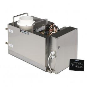 Velair 21K BTU VSD Marine Air Conditioner Unit - Brushless- Variable Speed- Soft Start- Reverse - Cycle Heat