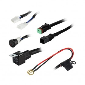 Heise 1 Lamp DR Wiring Harness Switch Kit