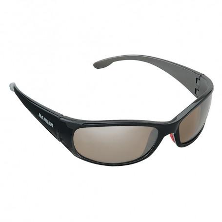 Harken Gale Sunglasses - Storm Grey Frame-Brown Lens