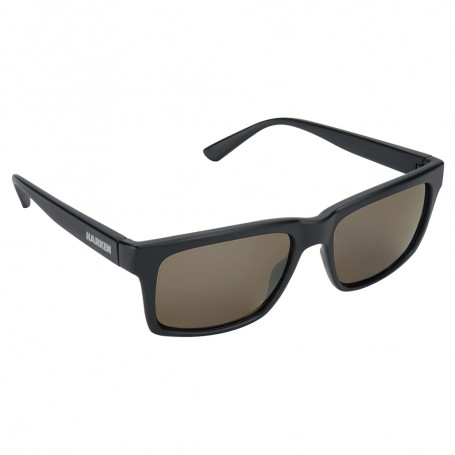 Harken Rake Sunglasses - Matte Black Frame-Grey Lens