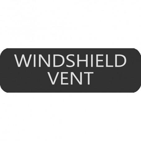 Blue Sea 8063-0522 Large Format Windshield Vent Label