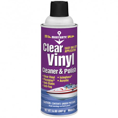 MARYKATE Clear Vinyl Cleaner and Polish - 14oz -Case of 12