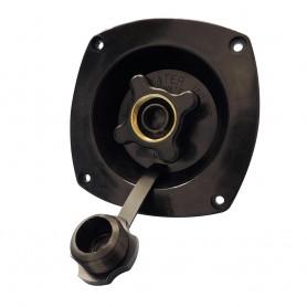 Shurflo by Pentair Water Pressure Regulator - Wall Mount - Black - 65 PSI