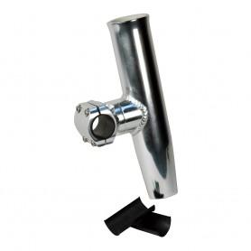 C-E- Smith Adjustable Mid Mount Rod Holder Aluminum 1-1-4- or 1-5-16- w-Sleeve Hex Key