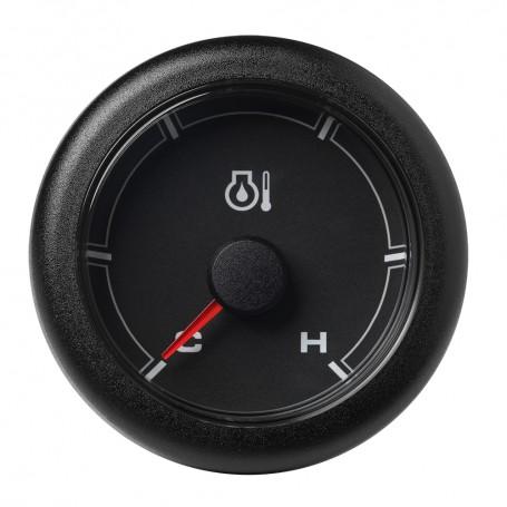 VDO Marine 2-1-16- -52mm- OceanLink Engine Oil Temperature Cold - Hot - Black Dial Bezel