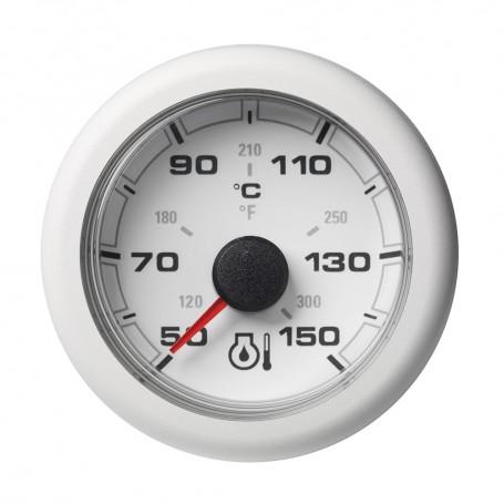 VDO Marine 2-1-16- -52mm- OceanLink Engine Oil Temperature 150 C - 300 F - White Dial Bezel
