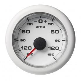 VDO Marine 2-1-16- -52MM- OceanLink Battery Current Gauge --150--150 AMP- White Dial Bezel