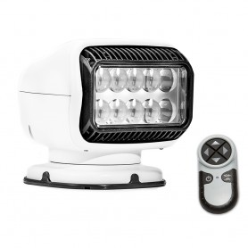 Golight Radioray GT Series Permanent Mount - White LED - Wireless Handheld Remote