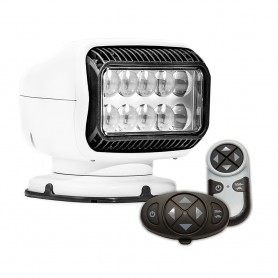 Golight Radioray GT Series Permanent Mount - White LED - Wireless Handheld Wireless Dash Mount Remotes