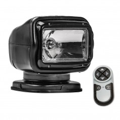 Golight Radioray GT Series Permanent Mount - Black Halogen - Wireless Handheld Remote