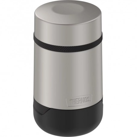 Thermos Guardian Collection Stainless Steel Food Jar - 18oz - Hot 9 Hours-Cold 22 Hours - Matte Steel