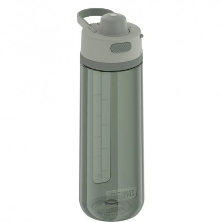 Thermos Guard Collection Hard Plastic Hydration Bottle w-Spout - 24oz - Matcha Green