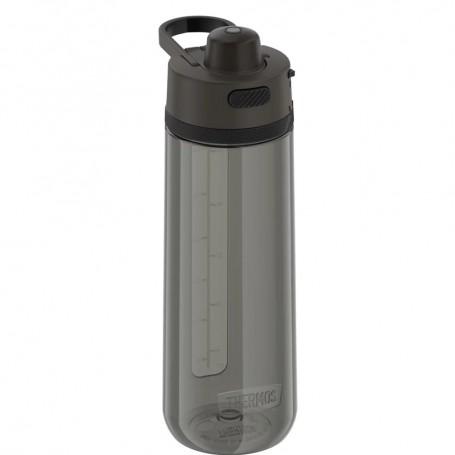 Thermos Guard Collection Hard Plastic Hydration Bottle w-Spout - 24oz - Espresso Black