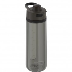 Thermos Guard Collection Hard Plastic Hydration Bottle w-Spout - 24oz - Espresso Black