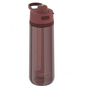 Thermos Guard Collection Hard Plastic Hydration Bottle w-Spout - 24oz - Rosewood Red