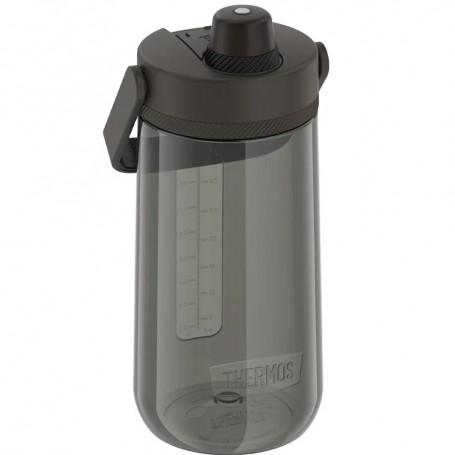 Thermos Guardian Collection Hard Plastic Hydration Bottle w-Spout - 40oz - Espresso Black