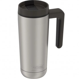 Thermos Guardian Collection Stainless Steel Hydration Bottle - 18oz - Hot 5 Hours-Cold 14 Hours - Stainless Steel Black