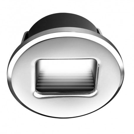 i2Systems Ember E1150Z Snap-In - Polished Chrome - Round - Warm White Light