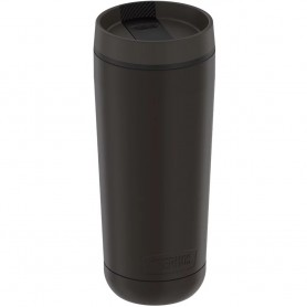 Thermos Guardian Collection Stainless Steel Tumbler 5 Hours Hot-14 Hours Cold - 18oz - Espresso Black
