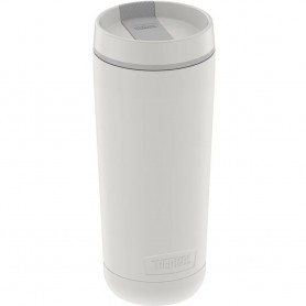 Thermos Guardian Collection Stainless Steel Tumbler 5 Hours Hot-14 Hours Cold - 18oz - Sleet White