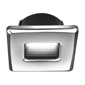 i2Systems Ember E1150Z Snap-In - Polished Chrome - Square - Cool White Light