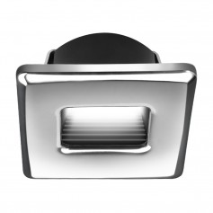 i2Systems Ember E1150Z Snap-In - Polished Chrome - Square - Warm White Light