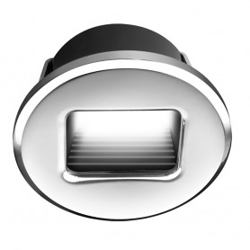 i2Systems Ember E1150Z Snap-In - Brushed Nickel - Round - Red Light