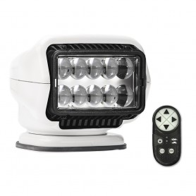 Golight Stryker ST Series Permanent Mount White LED w-Wireless Handheld Remote
