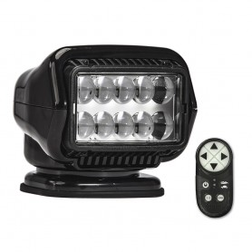 Golight Stryker ST Series Portable Magnetic Base Black LED w-Wireless Handheld Remote