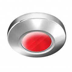 i2Systems Profile P1100 1-5W Surface Mount Light - Red - Brushed Nickel Finish