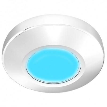 i2Systems Profile P1100 1-5W Surface Mount Light - Blue - White Finish