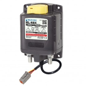 Blue Sea 7717100 ML-RBS Remote Battery Switch with Manual Control Auto Release Deutsch Connector - 24V