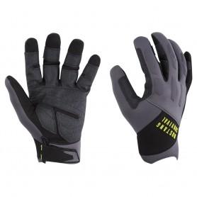 Mustang EP 3250 Full Finger Gloves - Medium - Grey-Black