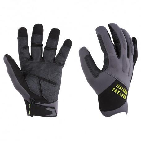 Mustang EP 3250 Full Finger Gloves - X-Large - Grey-Black