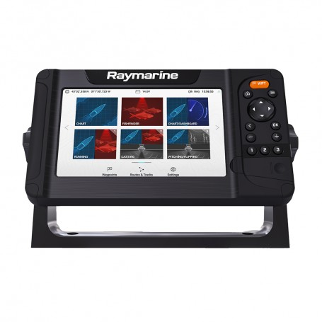 Raymarine Element 7 HV Combo w-Nav- Central South America Chart - No Transducer