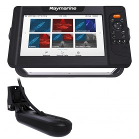 Raymarine Element 9 HV Combo w-HV-100 Transducer Nav- Central South America Chart