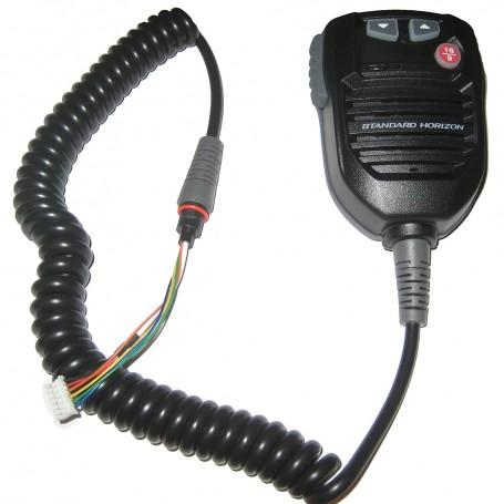 Standard Horizon Replacement VHF Mic f-GX2000B- GX2100B- GX2150B- GX2200B - Black