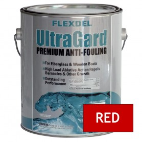 Flexdel UltraGard Premium Anti-Fouling Paint - Gallon - Red - NO SHIPPING-LOCAL PICK UP ONLY