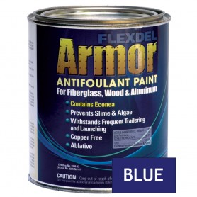 Flexdel Armor Anti-Fouling Bottom Paint - Quart - Blue - NO SHIPPING-LOCAL PICK UP ONLY