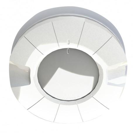 Lumitec Aurora LED Dome Light - White Red Output - Flush Mount