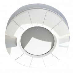 Lumitec Aurora LED Dome Light - White Red Output - Flush Mount