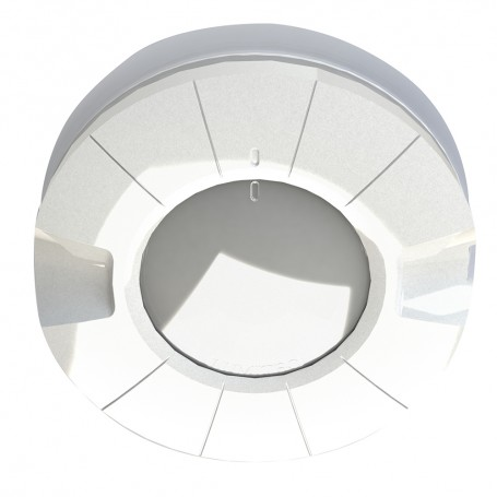 Lumitec Aurora LED Dome Light - White Blue Output - Flush Mount
